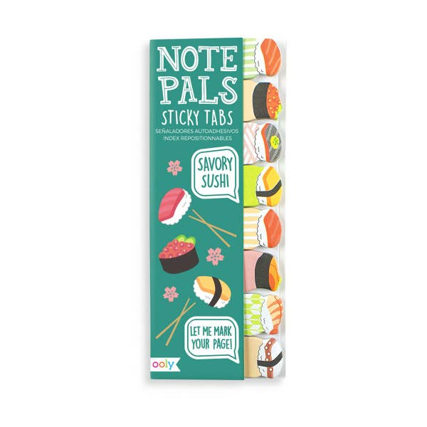 Note Pals Sticky Tabs - Dogs, Sushi or Cats!