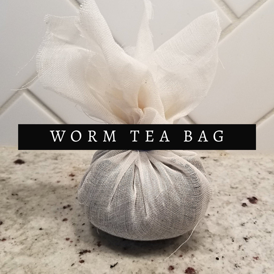 Worm Tea Bag - 100% Organic Plant Food