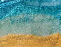 Art Piece - Ocean Panel - Metallic