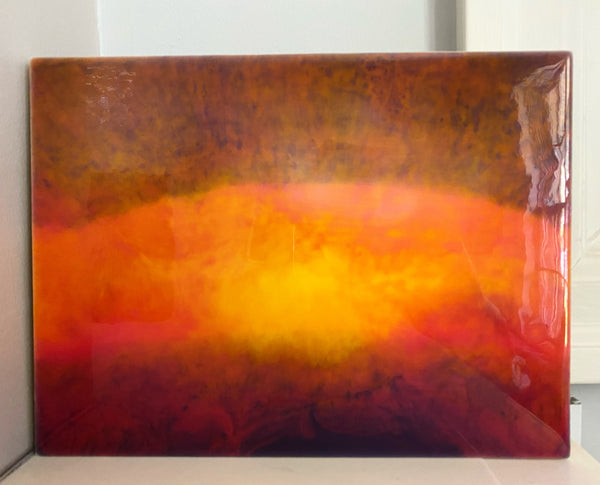 Art Piece - Sunset Burst Panel