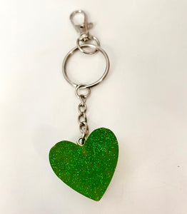 Green heart keychain! 💚