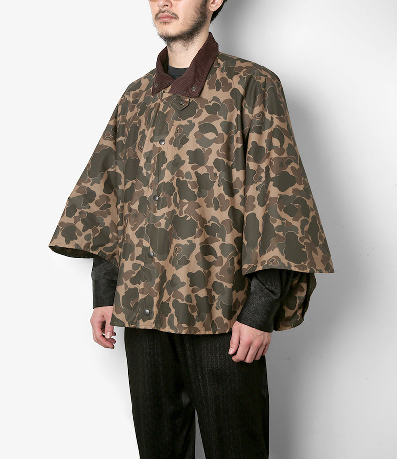 Waxed Cotton Lined Cape