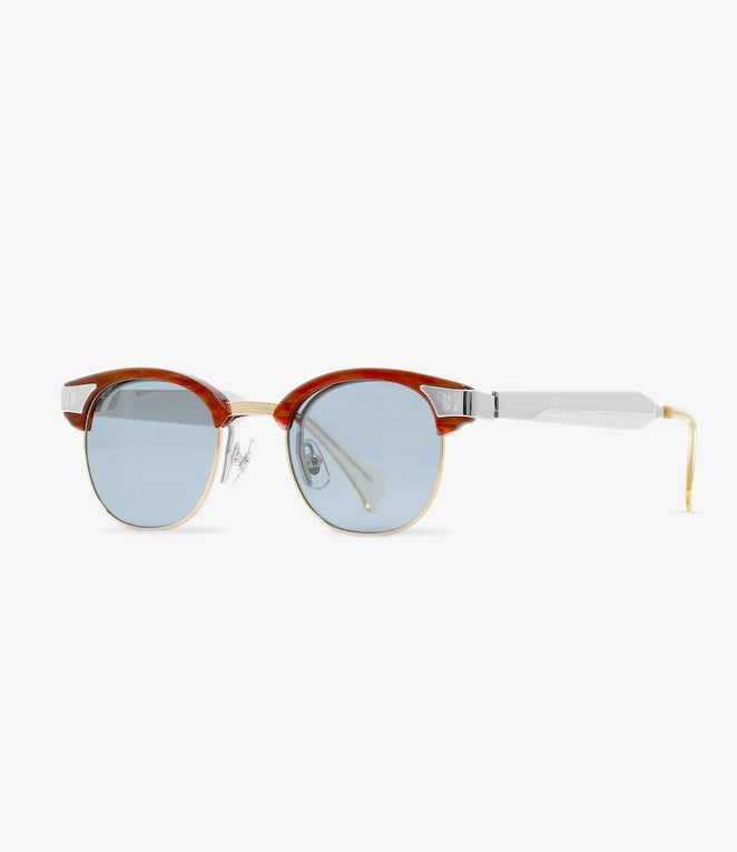Needles x MATSUDA / Papillon Glasses - James Sunglasses - Black