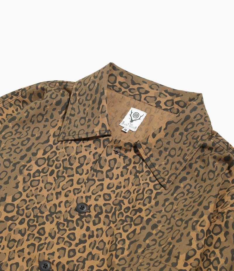 Hunting Shirt - Flannel Pt. - Leopard