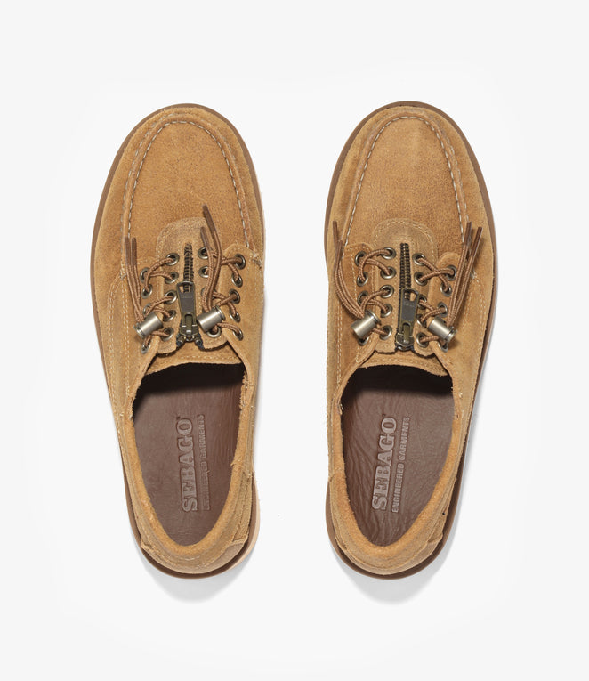 Sebago x Engineered Garments Zipperdeck - Beige