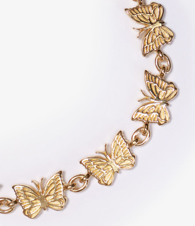 Bracelet - Gold Plate - Papillon Medium