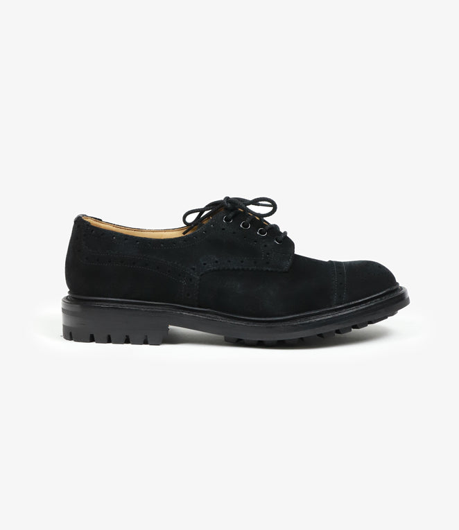 Gibson Brogues - Black Suede
