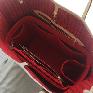 NeverFull PM MM GM Felt Cloth Insert Speedy Bag Organizer Makeup Handbag Organizer Travel Inner Purse Baby Cosmetic Mommy Bag