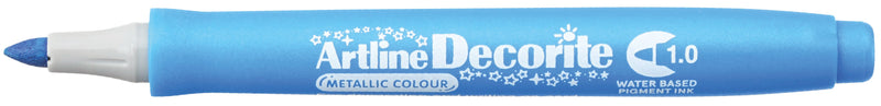 Artline Decorite Bullet 1.0mm metallic blue