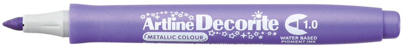 Artline Decorite Bullet 1.0mm metallic purple
