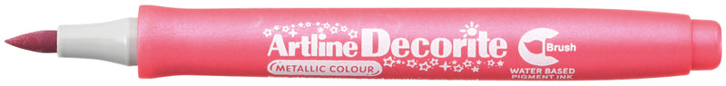 Artline Decorite Brush metallic pink