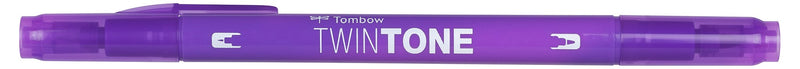 Marker Tombow TwinTone violet 0,3/0,8