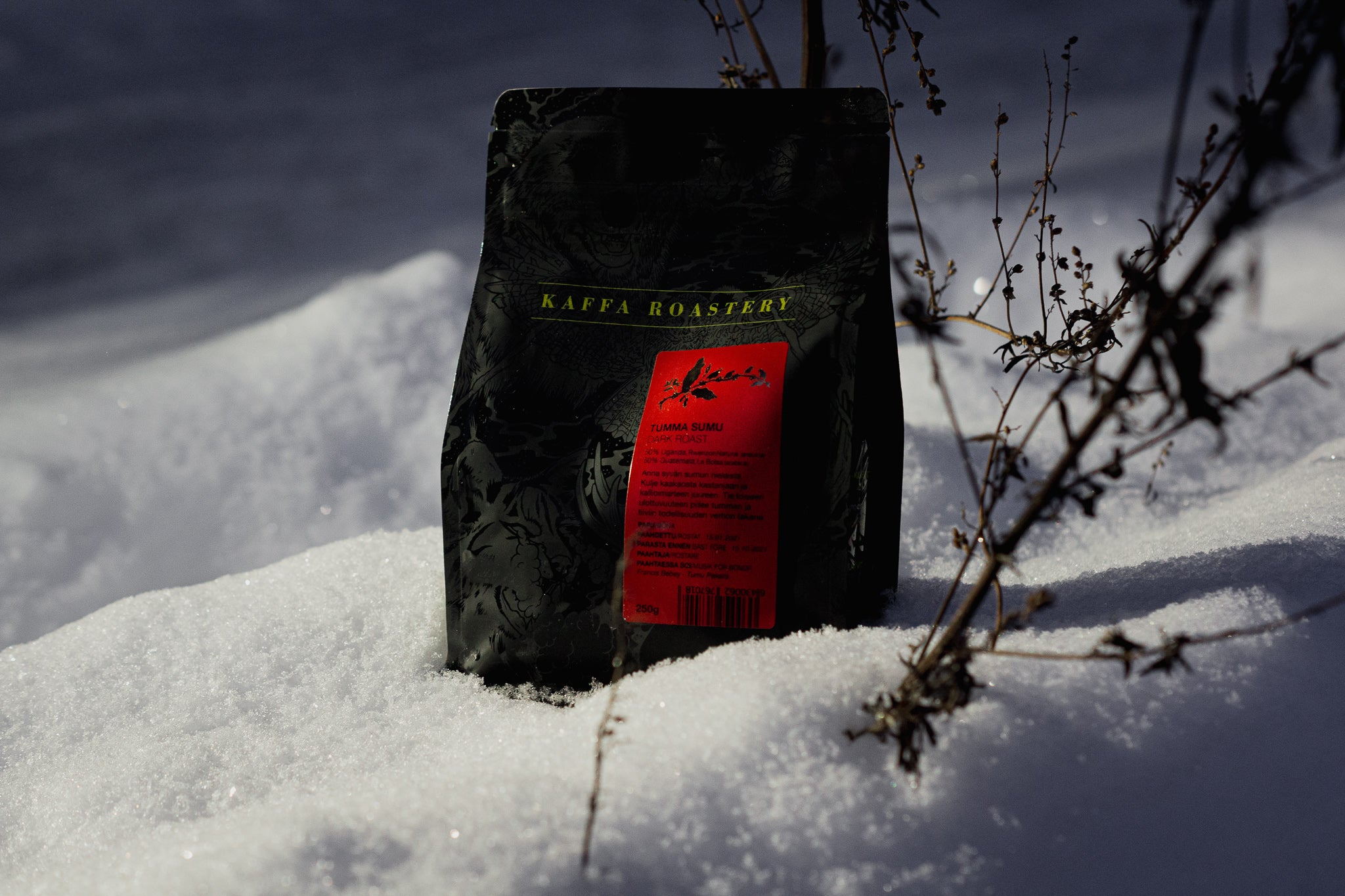 Our new dark roast Tumma Sumu is finally here!