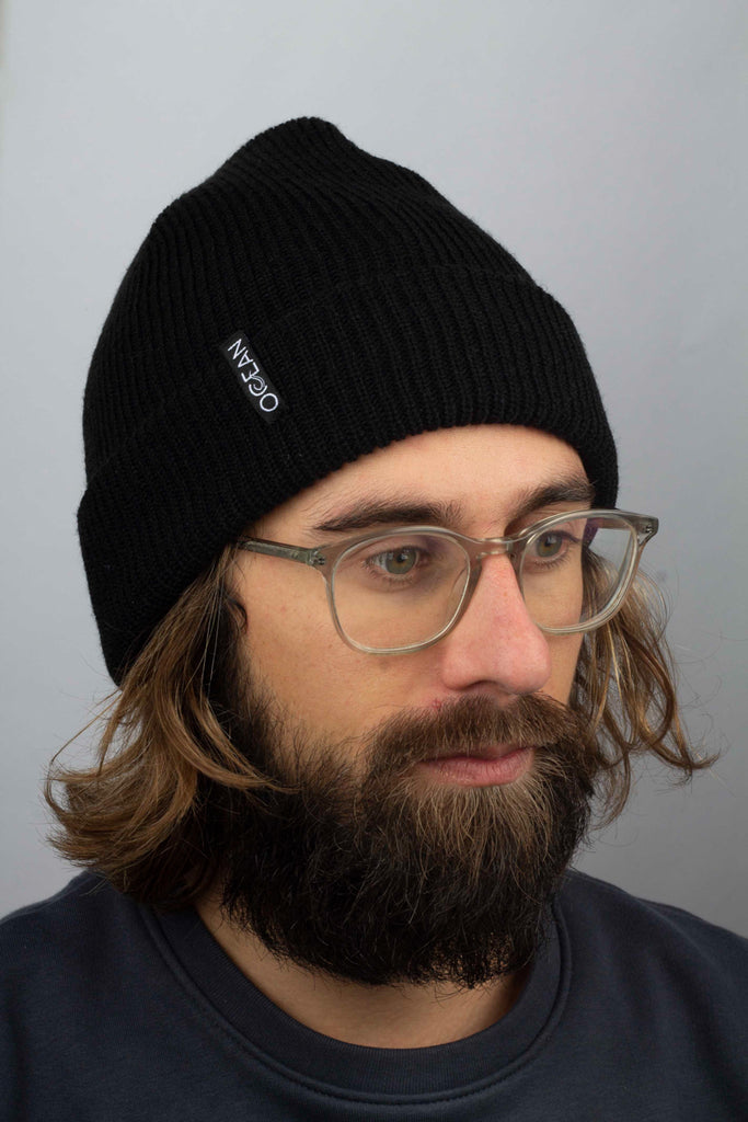 Beanie Ocean Below - Orca Black