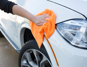 Car washing microfiber cloths