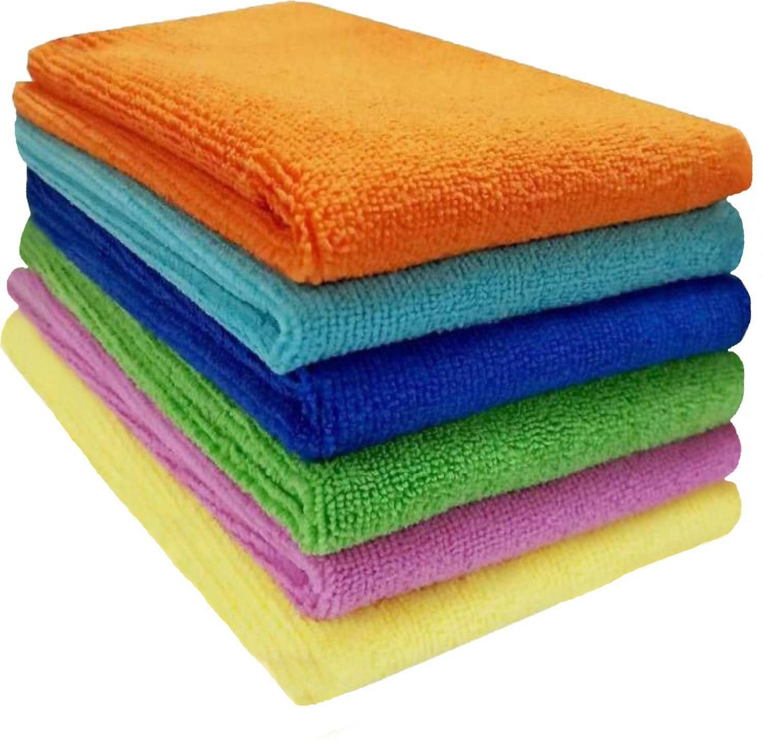 Sheen Microfiber cleaning cloth (40x40 cm) pack of 6