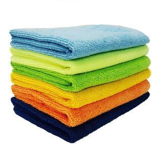Sheen Microfiber Vehicle Washing Cloth (30x40) Pack Of 6