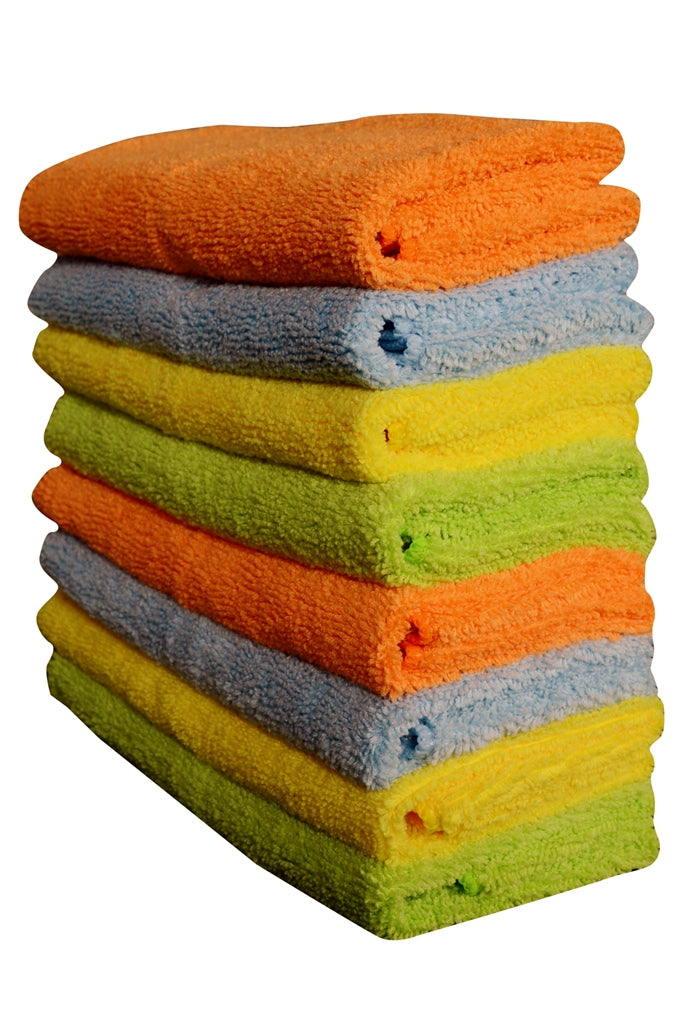 Sheen Microfiber cleaning cloth (40x40 cm) pack of 8