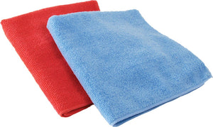 SHEEN Microfiber Vehicle Washing Cloth (35x35) cm, Pack Of 2