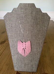 Feather Necklace (Silver)