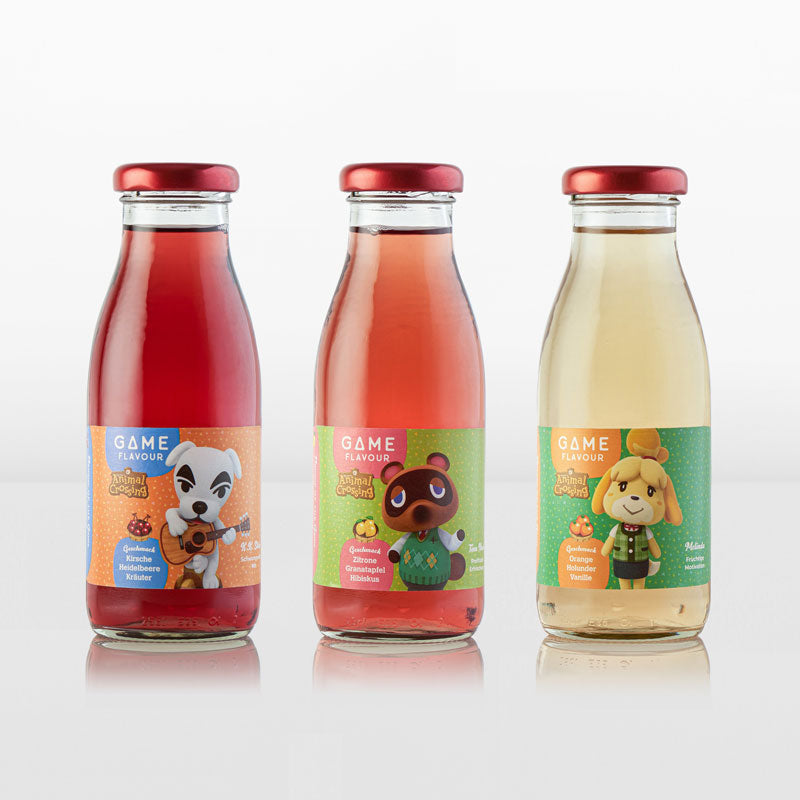Game Flavor Animal Crossing Mixed Flavors ~ Limited Edition New Year Packaging