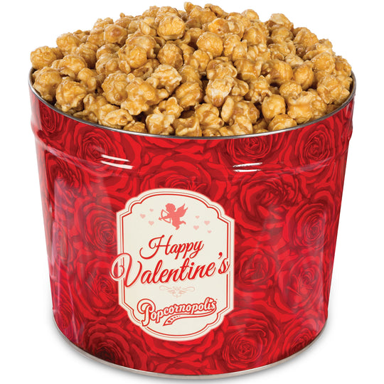 1.2 Gallon Valentine's Day Tin