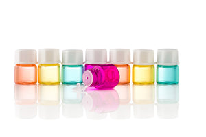 1ml Colour Sample Bottles with Stopper