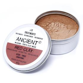 ANCIENT WISDOM - Luxurious Red Clay Face Mask - Skin Detox