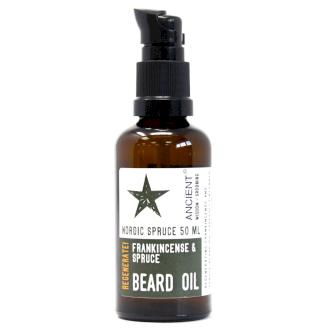 ANCIENT WISDOM - Nordic Spruce - Pure and Natural Beard Oil - Naturbon Online Store