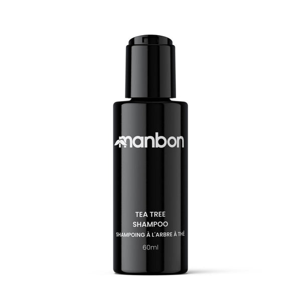 MANBON - Deep Cleansing Shampoo - Tea Tree - 60ml