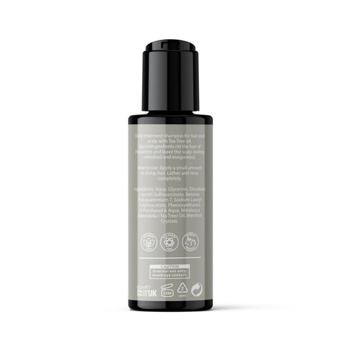 MANBON - Deep Cleansing Shampoo - Tea Tree - 60ml - Naturbon Online Store