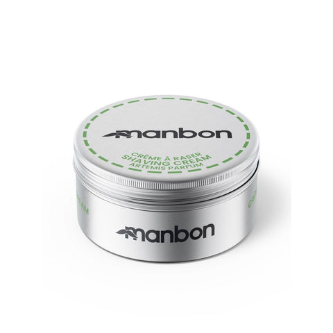 MANBON - Luxurious Moisturising Natural Shaving Cream - 125ml - Naturbon Online Store