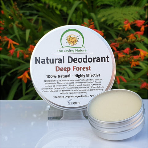Natural Cream Deodorant Deep Forest - Naturbon Online Store