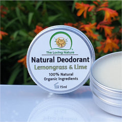 Natural Cream Deodorant - Lemongrass & Lime - Naturbon Online Store