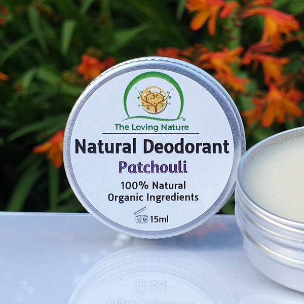 Natural Cream Deodorant - Patchouli