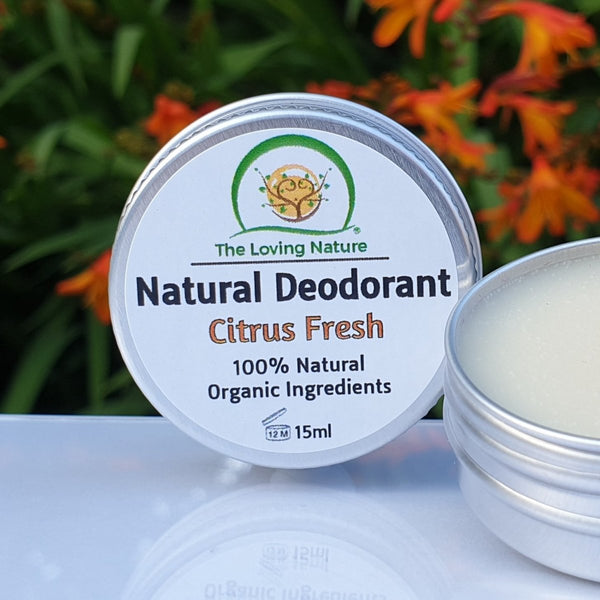 Natural Deodorant Cream - Citrus Fresh