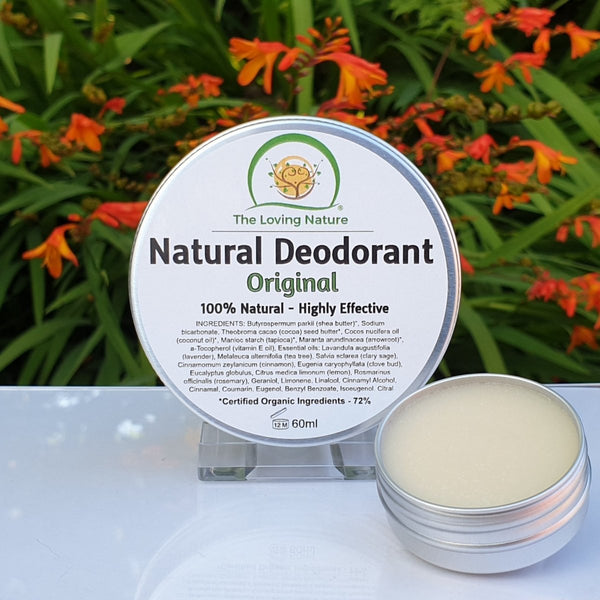 Natural Deodorant Cream - Original