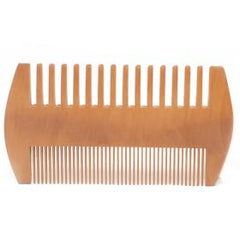 Two sided natural beard comb - Naturbon Online Store