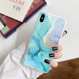 Vintage Marble TPU Case For Huawei