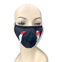 Adjustable Handala with Flag Face Mask and Filter - P-stine