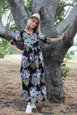 Load image into Gallery viewer, The floral maxi dress
