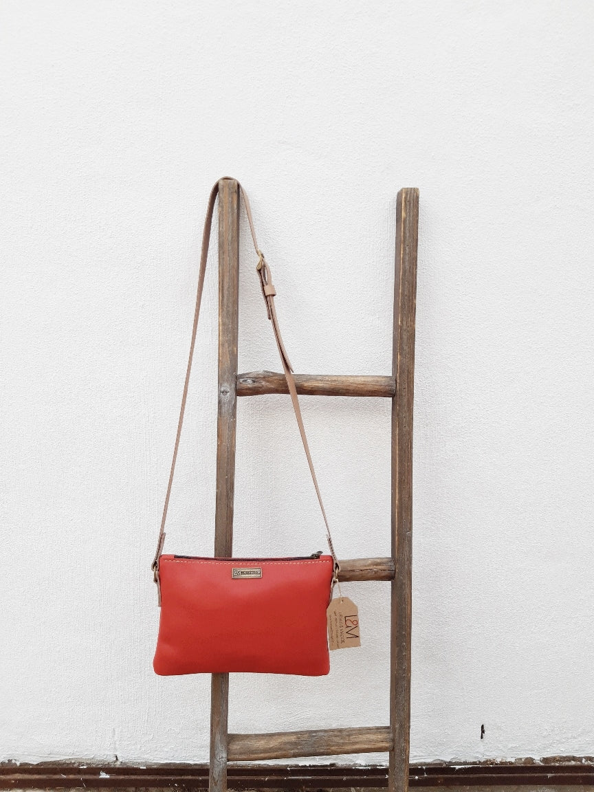 The Sling Bag – Red