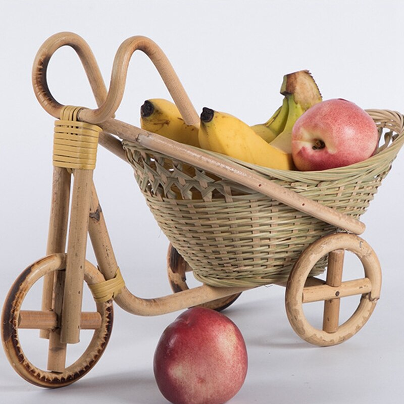 Bamboo bikie basket