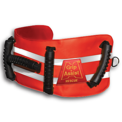 "GLAD Belt Rescue | 5 Handles - Fits 30"" - 54"" Waist"