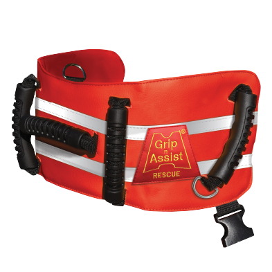 "GLAD Belt Rescue II | 5 Handles - Fits 30"" - 54"" Waist"