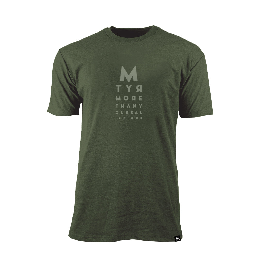Eye Chart Sueded T-Shirt