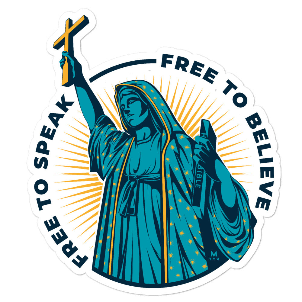Free to Believe Sticker