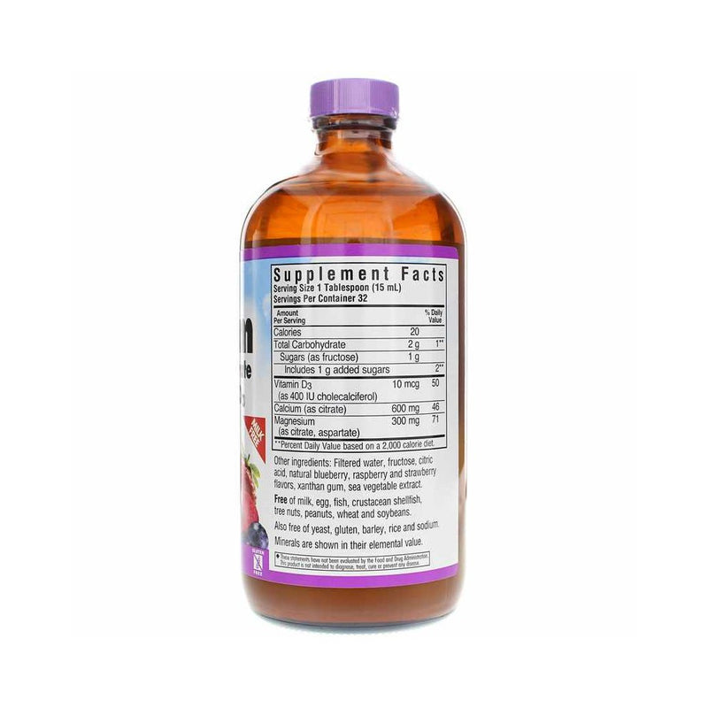 Liquid Calcium Magnesium Citrate Plus Vitamin D3