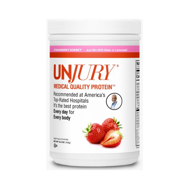 Strawberry Sorbet Flavored Protein Powder