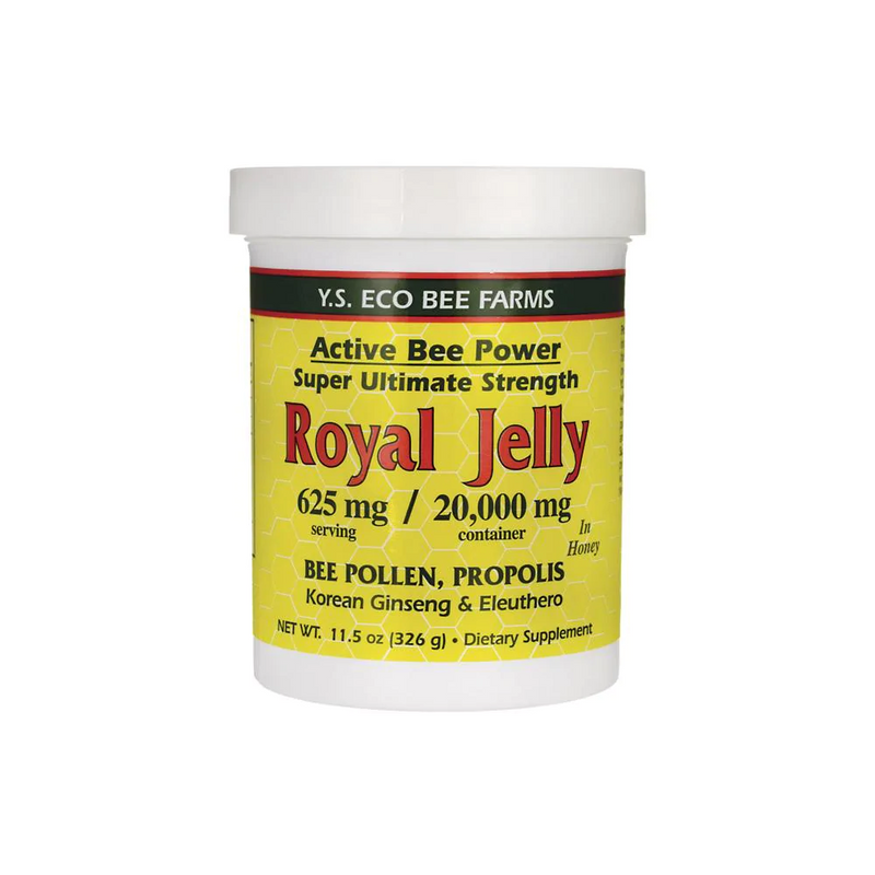 Royal Jelly with Bee Pollen, Propolis & Ginseng in Honey 36,000 mg